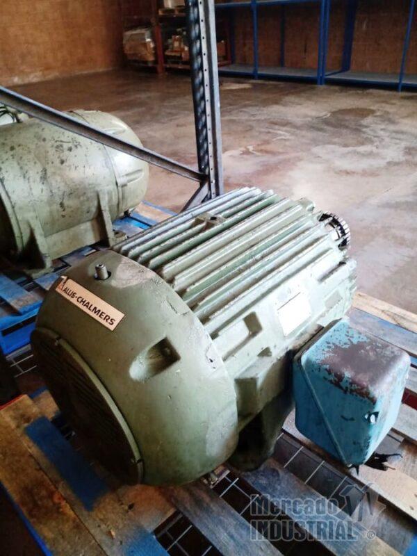 Motor 60 HP 6 Polos Frame 404T